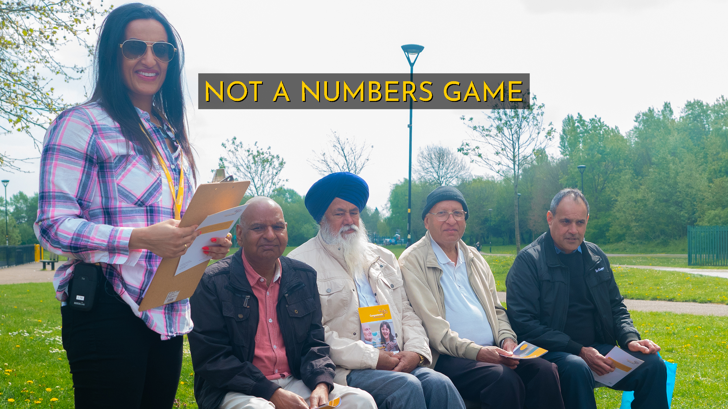 Documentary looking into palliative care amongst the South Asian community.