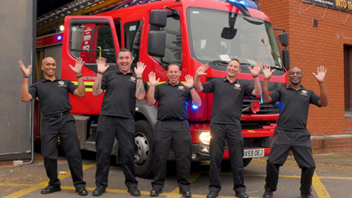 Firefighters Nominated for a Signature Deaf Award